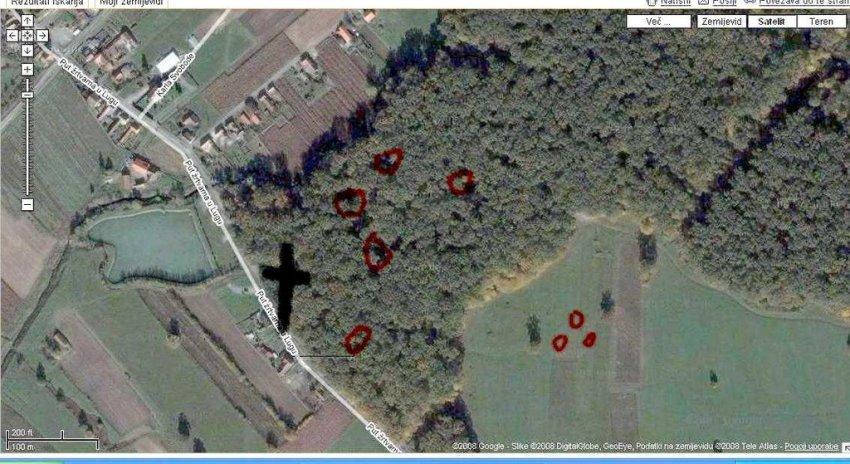 Lug kod bjelovara grobišta Hrvata