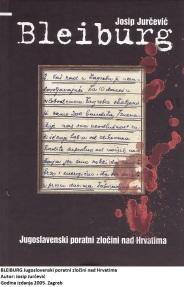 Trenutačno hrvatski narod ima priličan broj povjesničara, ali ih ima malo dobrih. Jugoslavenska, naime, misao poput magle još prebiva u nekim učenim glavama. Josip Jurčević kao povjesničar krenuo je pravim stazama. Piše povijest na temelju dokumenata, a ne na temelju naredbi kako bi trebalo biti napisano. Knjigom o Bleiburgu dirnuo je u pravu temu. To mu priznaju i današnji »jugoslovenski mislioci« pa ga previše ne napadaju zbog nje. Boje se da ne bi na svjetlo dana iznio još više dokumenata nego što ih je iznio. Kao da narod sve to ne zna?! Previše je naših obitelji pogođeno Bleiburgom da bi to prošlo kao zla kob samo malog broja ljudi. Na uvod se nastavljaju tri poglavlja knjige: Povijesne okolnosti nastanka totalitarne vlasti u Drugoj Jugoslaviji; Represivnost jugoslavenskog sustava u Hrvatskoj 1945.; Jugoslavenski poratni zločini nad Hrvatima. Slijedi zaglavak te popis izvora i literature, popis kratica, kazalo zemljopisnih pojmova i imena, kazalo osobnih imena i na kraju bilješka o autoru. Knjiga je, dakle, pisana znanstvenim aparatom, koji se istina prilagođuje zahtjevima pojedinog poglavlja. Naglasak u knjizi stavljen je na razotkrivanje represivnog sustava jugoslavenske komunističke vlasti i zbog toga mislim da je čitavoj knjizi trebalo dati drukčiji naslov. Ne bi to ništa oduzelo zastrašujućim riječima koje pronalazimo na korici knjige. Izrekao ih je Aleksandar Ranković. Opomenuo je »drugove« u Zagrebu u svibnju 1945. zbog nedjelotvornosti. Predbacuje im da su u »oslobođenom« Zagrebu strijeljali za 10 dana tek 200 »bandita«, a naredba je bila drukčija. Ne treba ništa više navoditi. Ovo je pravo lice »narodnooslobodilačke« vlasti. Protuslovno je, ali se istina o komunističkim zločinima teško iznosi na svjetlo dana, iako bismo trebali živjeti u slobodi. Hrvatski državni sabor bio je osnovao Komisiju za utvrđivanje ratnih i poratnih žrtava. No, 2000 narod je birao komuniste koji, uz mnogo čega drugoga, najprije izbaciše ono »državni« iz naziva Sabora, a onda u