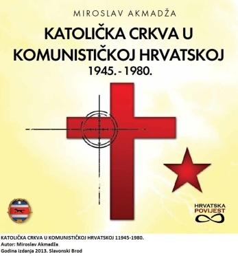 Bila su to vremena velikog sraza. S jedne strane bezbožni komunizam koji je darovanom mu silom gazio sve pred sobom, s druge strane Katolička crkva koja je živjela po umilnim Božjim zakonima. Josipu Brozu Titu i njegovima činilo se da se zna tko je pobjednik. A tako se činilo i njihovim podupirateljima u inozemstvu. Uzalud. Kad je umro zločinac Josip Broz Tito, Crkva se nije osvećivala. Uradila je što je trebalo uraditi i nastavila svojim putem. Bila je godina 1980. Akmadža tu staje sa svojim povijesnim razlaganjem, jer su tada uistinu potekla druga vremena. Raspao se jedan koncept, znamo sada kakav je drugi započeo. A prije toga bilo je krvi do koljena. Komunisti nikoga nisu štedjeli. Akmadža podsjeća da je zagrebački nadbiskup Alojzije Stepinac u propovijedi na Marijanskom kongresu u Glogovnici kod Križevaca 15. kolovoza 1940. komuniste nazvao družbom zločinaca (str. 16.). Početkom 1943. uputio je okružnicu svećenstvu u kojoj zahtijeva da Crkva prednjači u borbi protiv komunizma, koji je zaprijetio ne samo kršćanstvu nego i uopće svim pozitivnim vrjednotama čovječanstva (str. 17.). Bili su to stavovi koji su Crkvu neprestano vodili u njezinom srazu s komunizmom. A iskušenja je bilo bezbroj. Krajem rata i u poraću komunisti su revno ubijali članove crkvene hijerarhije. Međutim, oni umjesto da pognu glavu jasno kažu što im se radi. Prisjetimo se glasovitog Pastirskog pisma od 20. rujna 1945. Na poseban način tu su spomenuli ubojstvo franjevaca na Širokom Brijegu. Komunisti su se raspametili. Svim snagama navalili su na Crkvu. U tu svrhu uhitili su nadbiskupa Stepinca, trovali ga u tamnici i sudili mu. Njemu je to pomoglo da umre na glasu svetosti. Papa ga je izuzetno cijenio dodijelivši mu titulu kardinala prije njegove smrti. Zbog toga Jugoslavija prekida odnose s Vatikanom. Ali, nije sve tako jednostavno, pretvrd je Vatikan orah pa se ti odnosi kasnije popravljaju zbog uzajamnih probitaka. Katolička Crkva u Hrvata je i dalje žilava. Obiluje zvanjima, moli se i pri