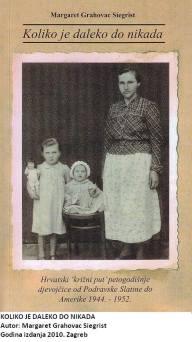 Te kasne jeseni 1944., ona je imala 44, njezin sin 9, a unuka 4,5 g. Bilo ih je još, ali ubrzo ostaju njih troje da bi se svojom krhkošću probijali kroz uzburkano ratno more. Na kraju svega unuka pomaže domovini u Domovinskom ratu, slobodna se vraća u nju i pronalazi proživjele kroz sve te puste godine. Pokušala se i prije vratiti, ali je morala pobjeći jer je dobila dojavu da je žele likvidirati, komunisti, podrazumijeva se. Ovo je jedna od mnogobrojnih hrvatskih priča započeta u Drugom svjetskom ratu, pričana kroz poraće i preživjela do naših vremena. Sve je zapisano puno godina kasnije, ali su se djevojčici Margaret sve te stvari usjekle u pamet, jer su bile prestrašne i preteške za njezinu životnu dob. Najprije je počela pamtiti iznenadna divljanja komunista po njezinom rodnom mjestu Sladojevci i napad na vlak u kojem se vozila, zajedno s drugim civilima. Zatim je došlo vrijeme kad su ih izbacili iz njihovih domova, rekavši im da se nikada više ne će moći vratiti, i kao pripadnike njemačkog naroda potjerali prema krajevima koje komunisti tada nisu držali u svojim rukama. Osim mnogobrojnih smrti, Margaret je prije polaska bila i silovana. U tankoj odjeći i drvenim klompama preživjela je sve strahote puta do raznih logora u Austriji. U međuvremenu je izgubila majku i čula ponovo riječi da se ona više nikada ne će vratiti. Nastavila je razmišljati koliko je daleko to »nikada«. Izgubila je i malu sestru, a rat joj je oduzeo i oca. S bakom i nećakom preživljava i nekoliko engleskih divljačkih bombardiranja logora u kojem je bila. Jedno je trajalo 3 dana. Pokušavaju otići u SAD, ali im ne daju jer su premali i prebolesni. Nećak, četrnaestogodišnjak, pokazuje svoje žuljevite ruke i to im postade putovnica u taj novi svijet. Blijeda je ovo slika onoga što piše u knjizi. Oštroumno zapažanje, pričanje bez mržnje i puno ljubavi prema obitelji i domovini, ostavlja nas bez daha. Bacamo pogled prema prozoru i tonemo u razmišljanje.