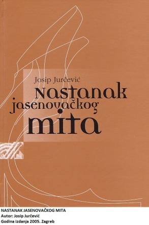 Te trube još ni danas nisu utihnule: hrvatski je narod genocidan, u Jasenovcu je pobijeno..., to je najveći zločin, isto se nastavlja i danas, u Domovinskom ratu je... One jačeg kalibra spominju i daleku prošlost. A je li to baš tako i zbog čega ovakve trube? Josip Jurčević svega je ovoga svjestan i upušta se u ispravljanje nazovi istine koja je premrežila kuglu zemaljsku. Dogodilo se to zbog britanskih, velikosrpskih i inih probitaka. Sustavno i bez napadanja drugoga progovara o dosadašnjim pokušajima sagledavanja broja žrtava u Jasenovcu, odnosno o proučavanju žrtava II. svj. rata na području Hrvatske i čitave negdašnje Jugoslavije. Uočio je u tome dvije temeljne pogrješke. Rukovodeći se ideologijom razni autori su stvorili mnoštvo građe, proglasili sve to znanstvenom istinom, a oni iza njih nastavili produbljivati tako stvorenu »znanstvenu istinu«. S druge strane uopće se ne govori o žrtvama koje su imale poražene strane, kao i o žrtvama poraća. Nad svime je bdjela KPJ. Krivotvorenje stvarnosti bilo joj je potrebno da bi uspješno provela svoje namisli. Uz uvod i zaglavak u kojima najizravnije iznosi svoje stavove, Jurčević u tri dijela razlaže problematiku jasenovačkog mita. U prvom dijelu govori o rezultatima komisijskih i antropoloških istraživanja te popisu žrtava rata. Drugi dio razlaže problem žrtava rata u demografskim djelima. »Problem žrtava Drugog svjetskog rata u historiografskim i publicističkim djelima«, naslov je trećeg dijela. Knjiga je opremljena i kraticama, izvorima i literaturom, kazalom osobnih imena i kazalom zemljopisnih pojmova. Napisana je, dakle, prema zakonima znanosti. Problematika žrtava u Jasenovcu i nakon ove knjige je ostala otvorenom. Pisac nije ni mislio jasno odgovoriti na taj upit. On je samo kušao razotkriti jasenovački mit i potaknuti sebe i druge na točno istraživanje svih tih događaja. Do sada to nije bio slučaj. Svako, naime, iznošenje drukčijih spoznaja, ma koliko one bile utemeljene, do Domovinskog se rata strogo kažnjaval