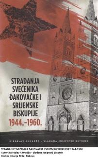 Jugoslavenski komunisti su u Drugom svjetskom ratu, poraću pa i kasnije nemilosrdno ubijali ne samo katolike, nego i njihove predvodnike. U ubijanju su žešći od njih bili u SSSR-u i za vrijeme napada svjetskog komunizma na Španjolsku kad su od nje mislili stvoriti bezbožničku kulu u srcu Europe. Čak je i Albanija bila blaža. Knjiga pred nama sve to zorno pokazuje, iako govori samo o određenom kraju, hrvatskom istoku gdje su komunisti htjeli da svane njihova zora. Mnoštvo je ovdje sudbina i tragedija. Nemoguće je o tome progovoriti kroz nekoliko redaka. No, svakako navedimo da su uhićenike redovito pitali ili bolje reći optuživali za ponašanje tijekom pada prve Jugoslavije. Komunisti su očito bili stajališta da je trebala opstati i da im je smrtni neprijatelj svatko onaj tko se tome protivio. Sudbine svećenika Đakovačke i Srijemske biskupije donesene u knjizi obuhvaćaju razdoblje od komunističkog preuzimanja nadzora nad pojedinim područjima biskupije (Srijem) 1944. te godine 1960. kad se vodio jedan od najvećih sudskih postupaka protiv svećenika Katoličke crkve u tadašnjoj Jugoslaviji, suđenje profesorima i svećenicima Đakovačkog sjemeništa. Nakon uvodnih poglavlja o čitavoj problematici odnosa komunista prema Katoličkoj crkvi donesen je poimenični pregled ljudskih sudbina. Komunističke optužbe pršte na sve strane, optuženi nemaju nikakve prilike obraniti se. Tako je to bilo u ona vremena, a i uvijek je kad su njihovi na vlasti. Autori su dotaknuli i pitanje crkvene suradnje s komunističkim vlastima. Posebno se spominju udruženje Dobri pastir i biskup Antun Akšamović. U zraku lebdi pitanje je li vrijedilo? Bit će o tome još govora u budućnosti. U prvi mah izgleda zaprepašćujuće kako nakon svih ovakvih i sličnih knjiga komunistička svijest još uvijek žilavo traje u javnom mnijenju. Da su komunisti učinili samo ove zločine navedene u knjizi, bilo bi previše. No, onaj tko pozorno prati kretanja u društvu lako dolazi do odgovora. Raznorazna središta moći podupiru one koj