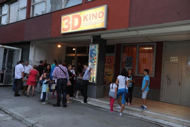 Oteta zgrada Hrvatskog doma, danas se tu nalazi 3D kino Kaleidoskop