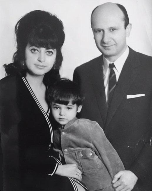 Nahida Kulenović supruga Mirjana Deželić i sin Džafer Jeff Kulenović