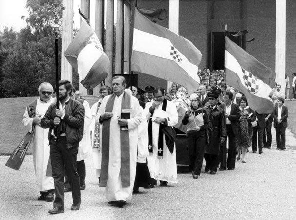 Pogreb Stjepana Đurekovića u Münchenu 1983. godine