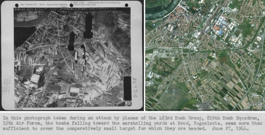 (1) Zračni napad na Brod 27. 06 1944