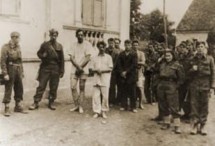 23. Zarobljeni hrvatski vojnici u Podravskom Kloštru, listopad 1944. godine