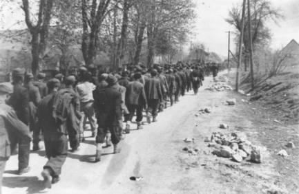 32. Ilirska Bistrica 7. svibnja 1945., zarobljeni Hrvati, Križni put!