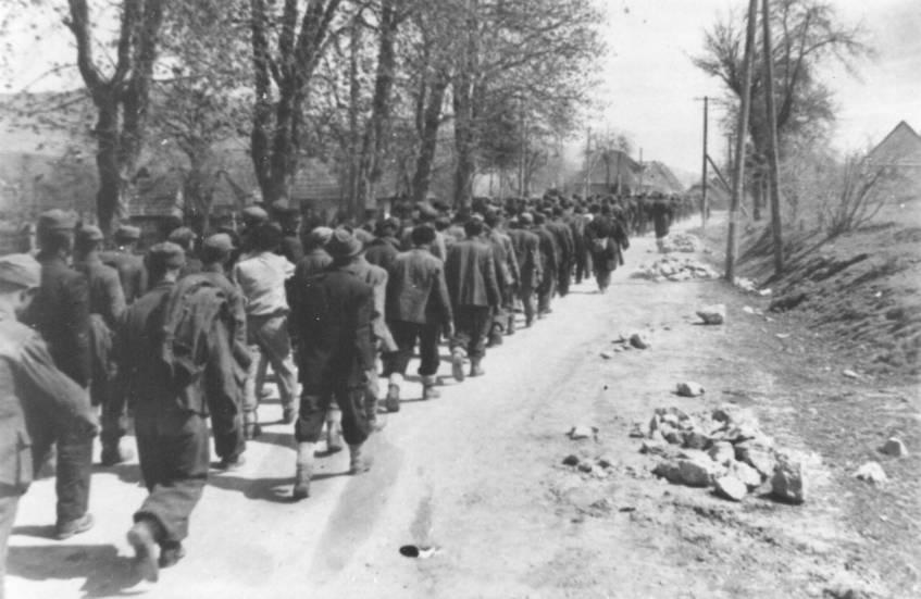32. Ilirska Bistrica 7. svibnja 1945., zarobljeni Hrvati, Križni ...