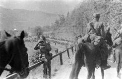 46. U blizini Dravograda, Dobojska bojna Ustaške željezničke vojnice. Fotografirao Filip Ćorlukić iz Tuzle
