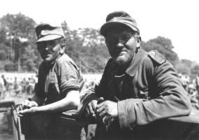 52. Domobrani u logoru na Maksimiru