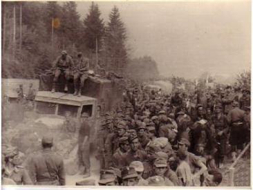72. Križni put Slovenija svibanj 1945.