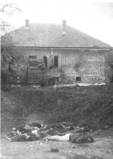 75. Strijeljani domobrani u velikim Laščama Slovenija 1943
