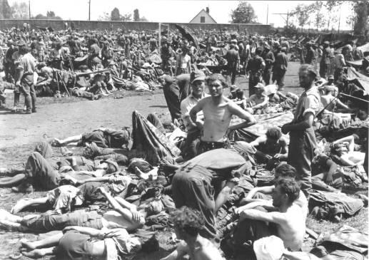 8. Logor stadion Maksimir Zagreb svibanj 1945.