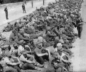 80. Hrvatski vojnici vraćeni s Bleiburga svibanj 1945.