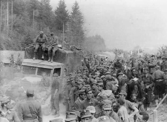 81. Križni put Slovenija svibanj 1945.