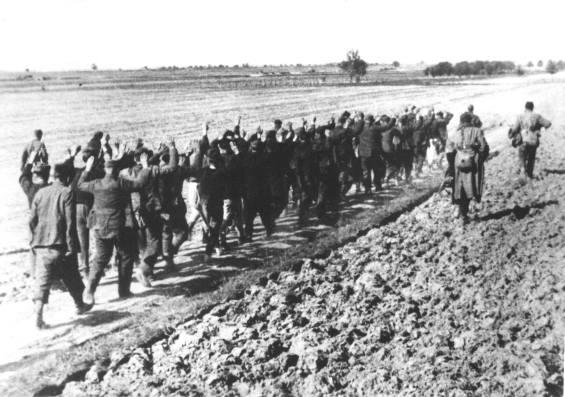 90. Hrvate vode na likvidaciju, Našice 1945.