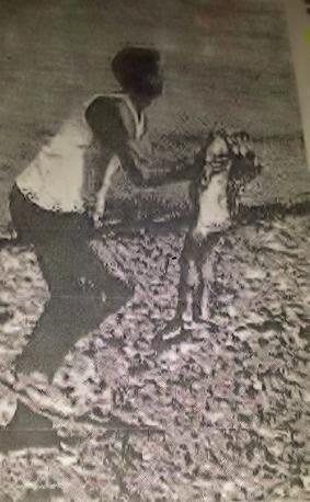 Jedna od rijetkih fotografija s mjesta eksplozije u Vergaroli gdje otac nosi ranjenu djevojčicu.