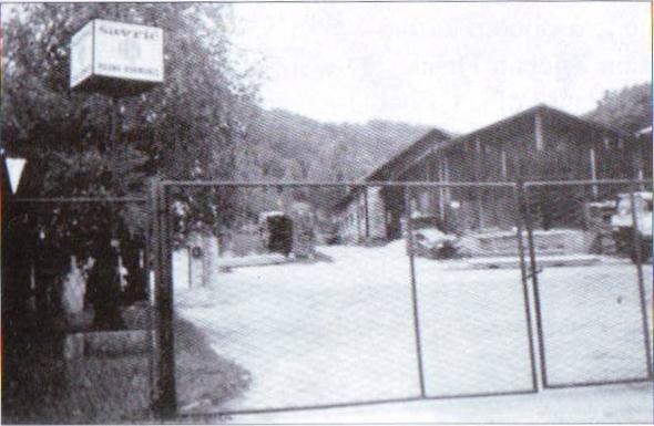 Đurmanec logor na pilani danas Šavriću gdje su zarobljenici vezani žicom prije otpreme na likvidaciju
