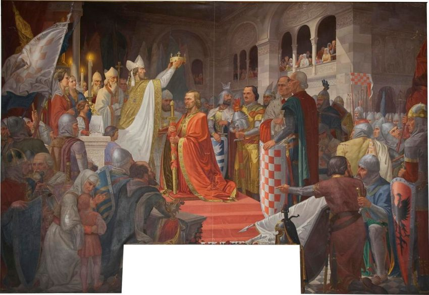 Krunidba kralja Tomislava,