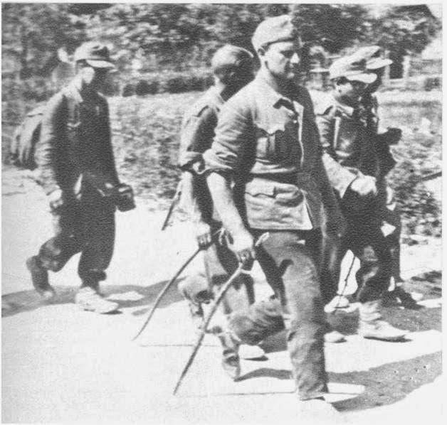Zarobljeni domobrani u Ilači