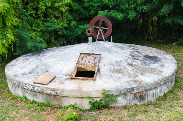 Stari spremnik za vodu