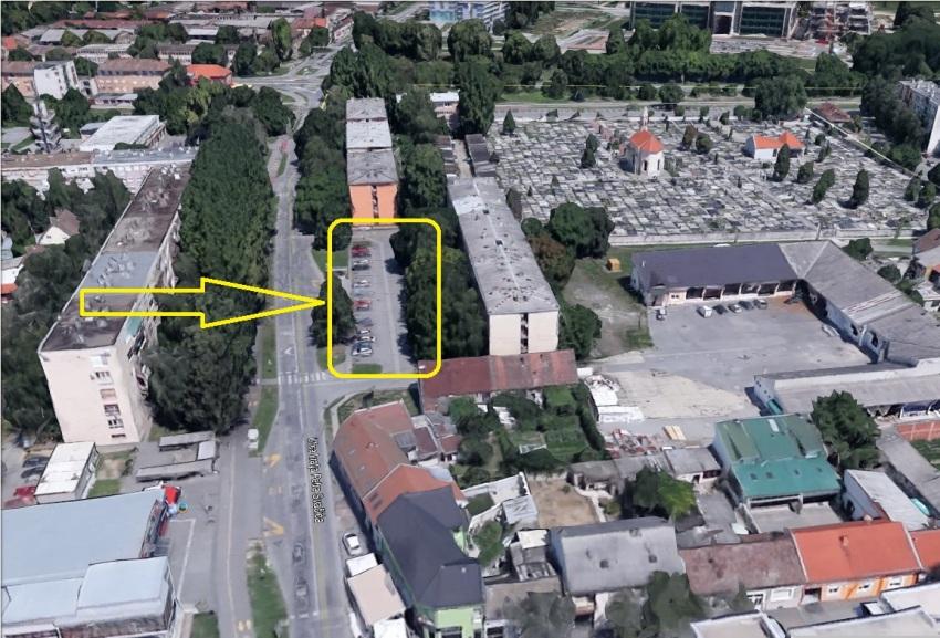 Ul. Kralja Petra Svačića Osijek, masovna grobišta