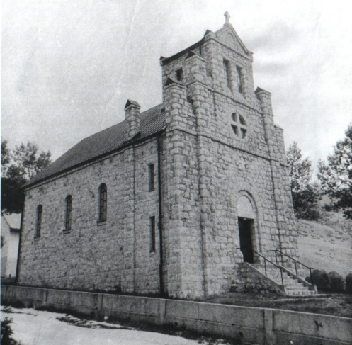 Rastičevska crkva 1927