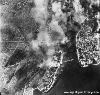 Zračni napad na Zadar