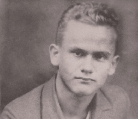 Danijel Uvanović 1927., Izvor Arhiv Filozofskog fakulteta u Zagrebu.